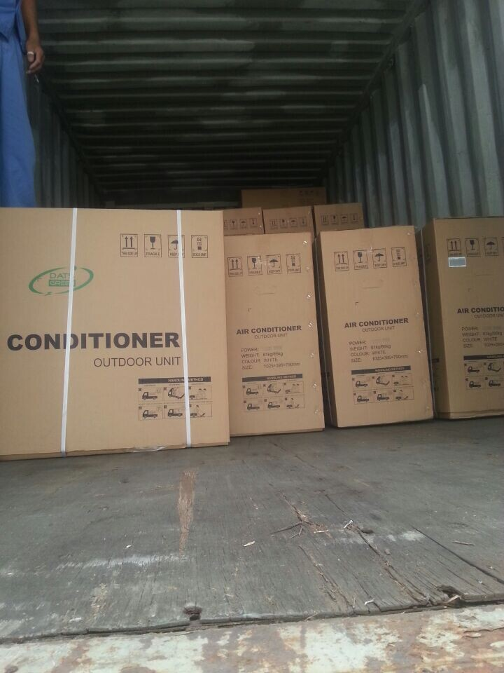 Mr Cool Solar AC exported to Oman