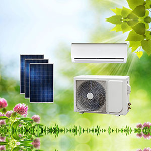 On Grid/ACDC Hybrid Solar Air Conditioner
