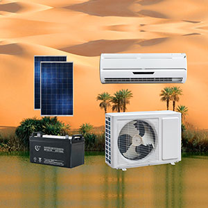 Off Grid DC 48V 100% Solar Air Conditioner