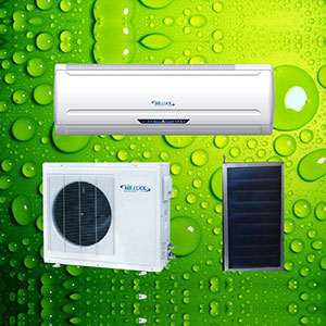 Thermal Boosted Solar Air Conditioner